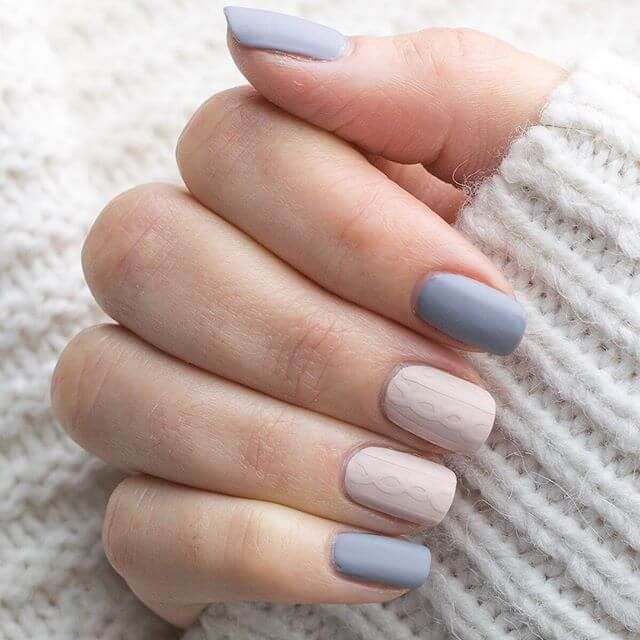 50 Distinctive Matte Nail Concepts to Elevate your Look