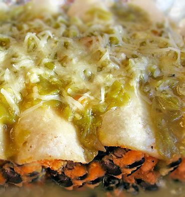 Sweet Potato And Tofu Enchiladas With Mole Sauce Recipes — Dishmaps