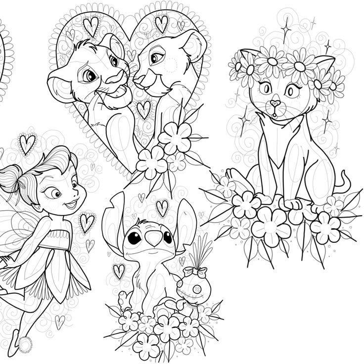 Tattoo Vorlage Disney