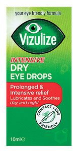 Vizulize Intensive Dry Eye Drops 10ml Vizulize Intensive Dry Eye Drops 10ml: Express Chemist offer fast delivery and friendly, reliable service. Buy Vizulize Intensive Dry Eye Drops 10ml online from Express Chemist today! (Barcode EAN=506 http://www.MightGet.com/january-2017-11/vizulize-intensive-dry-eye-drops-10ml.asp