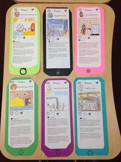 Character Instagram Posts Use the format of an Instagram post to help students understand perspective and point of view. Students create a username image and comments from the perspective of a book character or historical figure. The activity is a big win with the students and is a creative way to assess what students understand about an event in history or an important scene in a story. Students use a template to add three comments about a chosen scene or event. The students consider how...