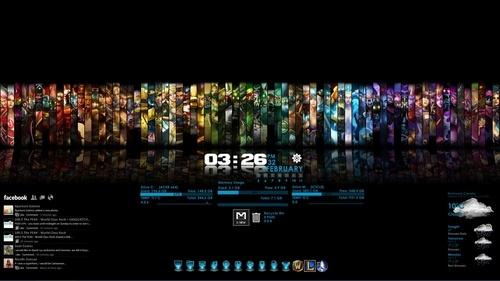 League Of Legends desktop theme I made.