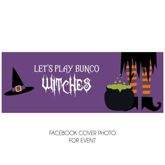 Halloween Bunco Score Card Set - Let\u0027s Play Bunco Witches Includes - halloween potluck sign up sheet template