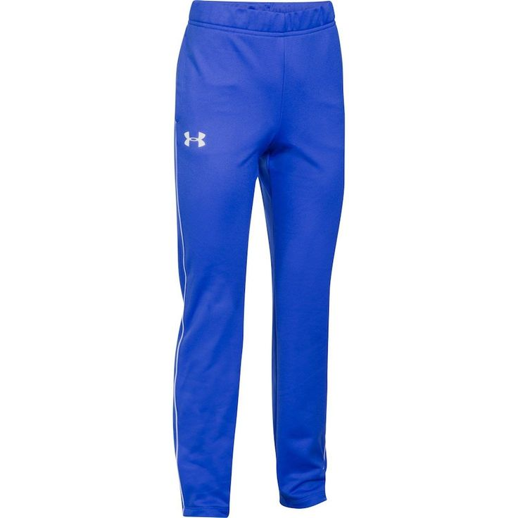 Girls 7-16 Under Armour Track Pants, Size: Medium, 984 Lapis Blue