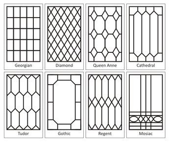 "How To Create a ""Leaded"" Glass Look on your Windows - using self adhesive lead tape (available in craft stores). This product line includes paint so you can create stained glass windows."