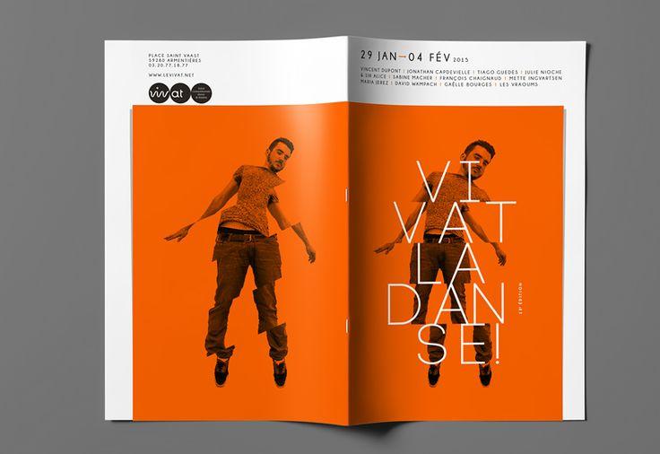 Les produits de l'épicierie, design graphique, Vivat la danse ! 2015, Le Vivat . Armentières