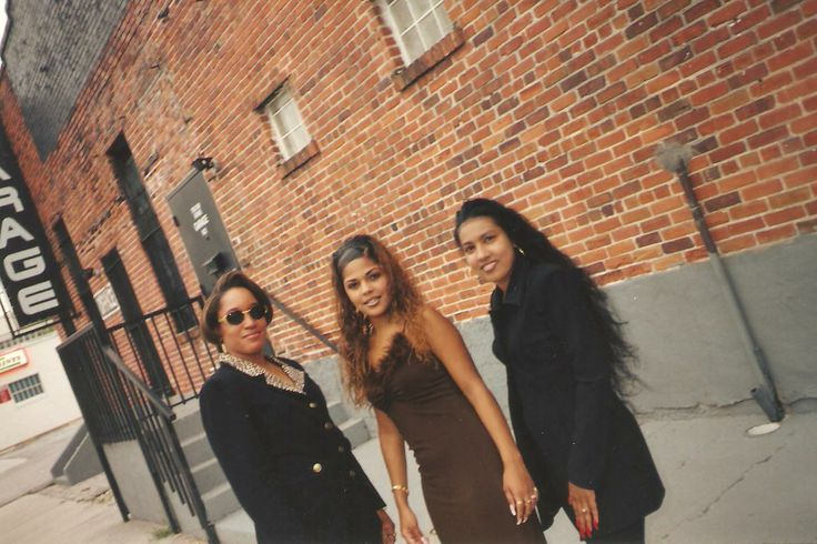 Me with my girls, Elsie from the group DSD (Dirty South Divas) & Angie! This day was soooo crazy and off the chain. #LOL