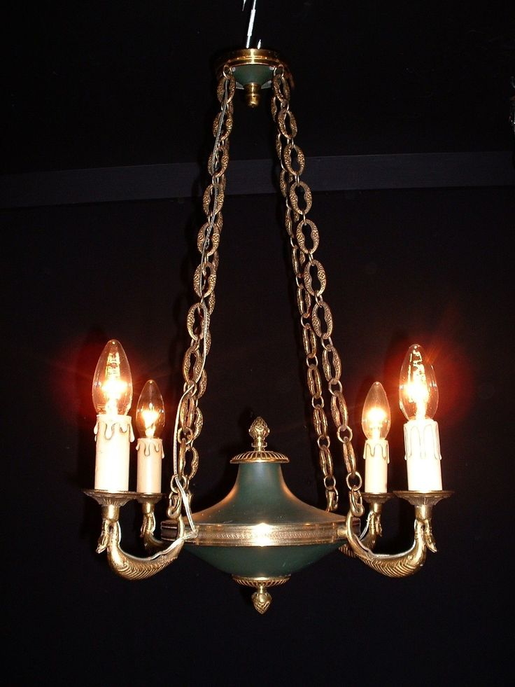 75 best antique french lighting i love images on pinterest vintage french bronze empire style chandelier with swan arms ebay aloadofball Choice Image
