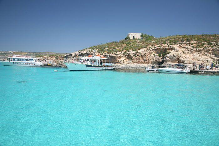 Blaue Lagune Malta im Malta Reiseführer http://www.abenteurer.net/2304-malta-reisefuehrer/