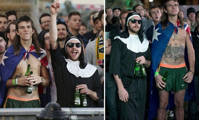 Before and after: The experience of Aussies watching the Rugby final