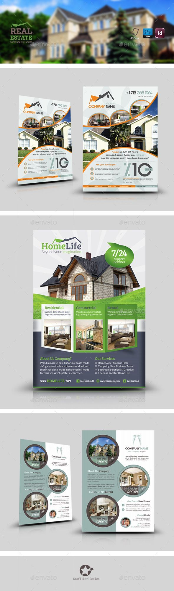 49 best Real Estate Business Flyers images on Pinterest | Business ...