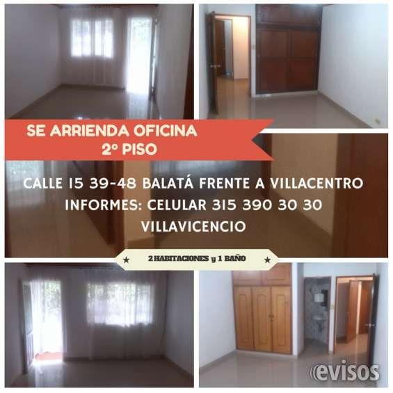 Arriendo oficina 2do piso calle 15 39-48 Villavicencio frente a Villacentro Se arrienda Oficina de 50mts2 en el segundo piso, ubicada  .. http://villavicencio.evisos.com.co/arriendo-oficina-2do-piso-calle-15-39-48-villavicencio-frente-a-villacentro-id-477182