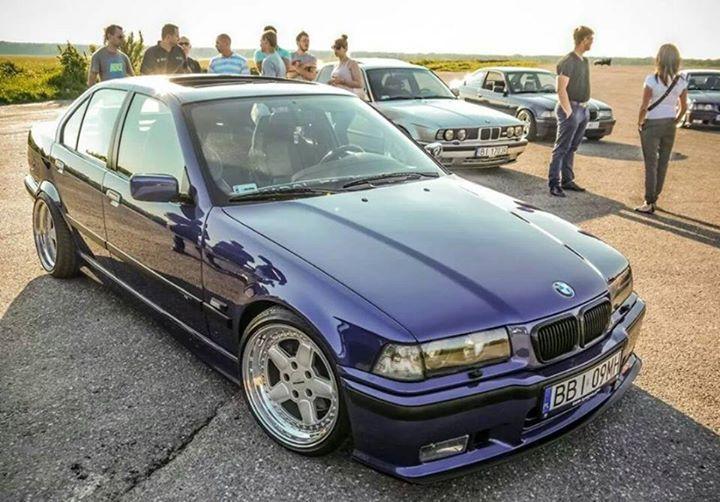 Fantastic Violet Bmw E36 Sedan On Culture Classic Oz Made