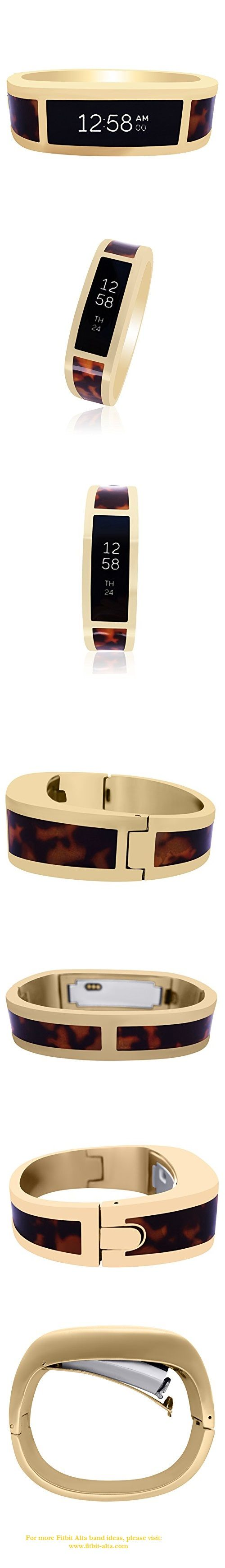 Fitbit Alta Bangle HERMOSA - stainless steel Gold - Resin Flake