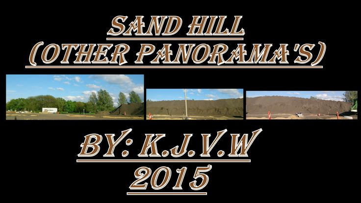 Sand Hill | A sandhill from along the road