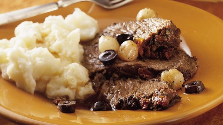 Slow-Cooker Mediterranean Pot Roast