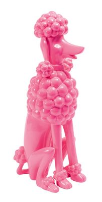 This sculpted pink poodle us a contemporary accessory that will be the talking point in any room.