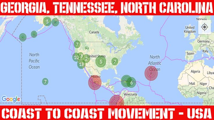 Earthquake Report   April 26, 2016   East Coast Quakes   North Carolina ...