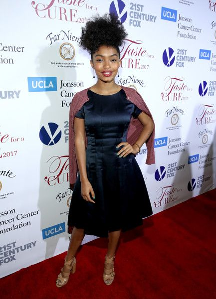 """Actress Yara Shahidi attends the UCLA Jonsson Cancer Center Foundation Hosts 22nd Annual """"Taste for a Cure"""" event honoring Yael and Scooter Braun at the Regent Beverly Wilshire Hotel on April 28, 2017 in Beverly Hills, California."""
