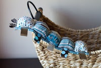 Tutorial - How to Make a Taggie Puff Caterpillar
