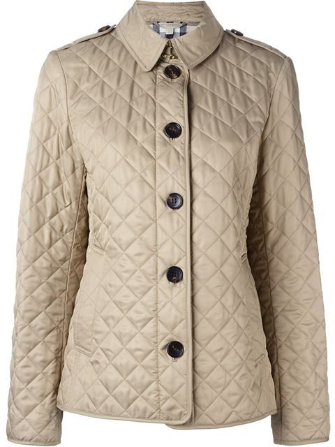 BURBERRY BRIT BURBERRY - CLASSIC QUILTED JACKET . #burberrybrit #cloth #jacket