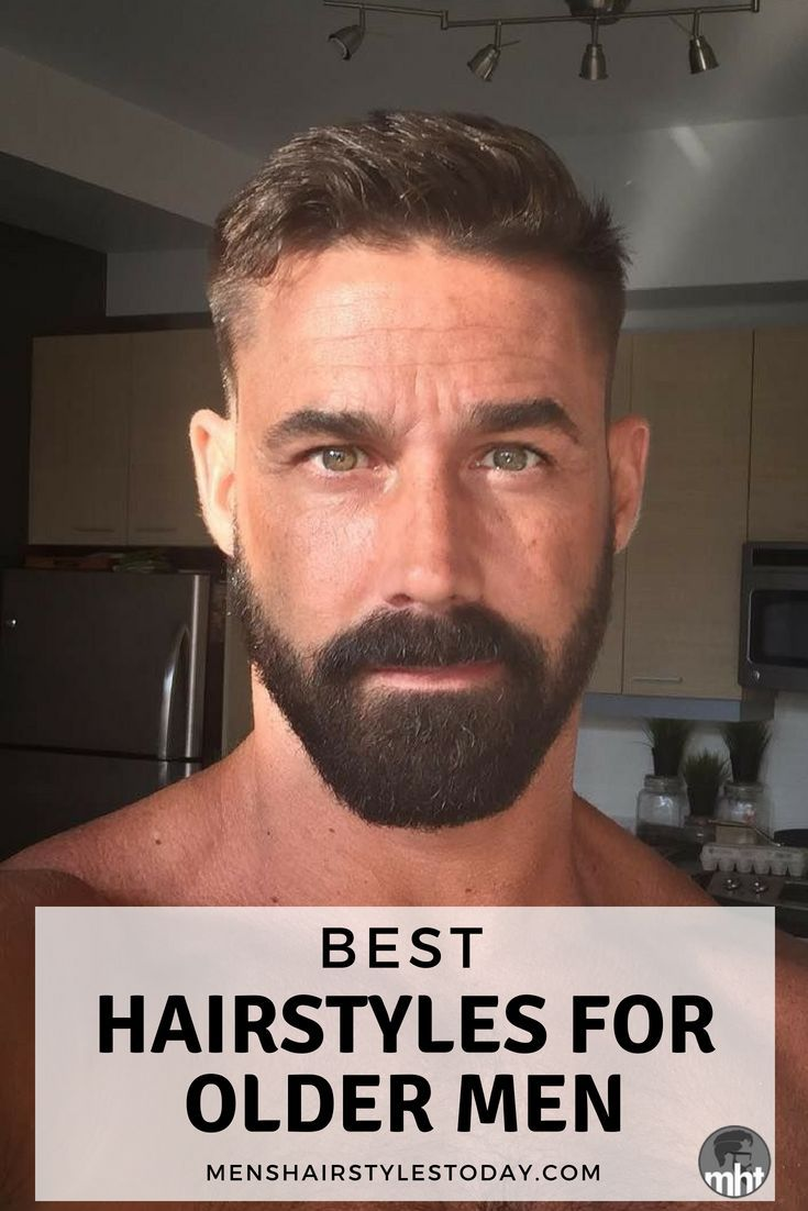 25 Best Hairstyles For Older Men 2019 Mens Grooming