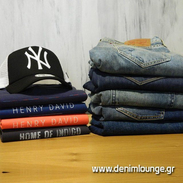 #Levis #jeans #LeeJeans tops #NewEra hats, #DenimLounge clothing for the #Urban #Slackers generation. Online Multibrand Store, Zigomalli 1, Ioannina, Greece.