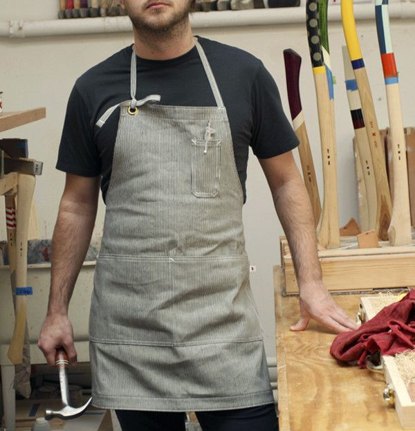 Best Made Company — Apron ...for the dude or dudette who has everything.... $58