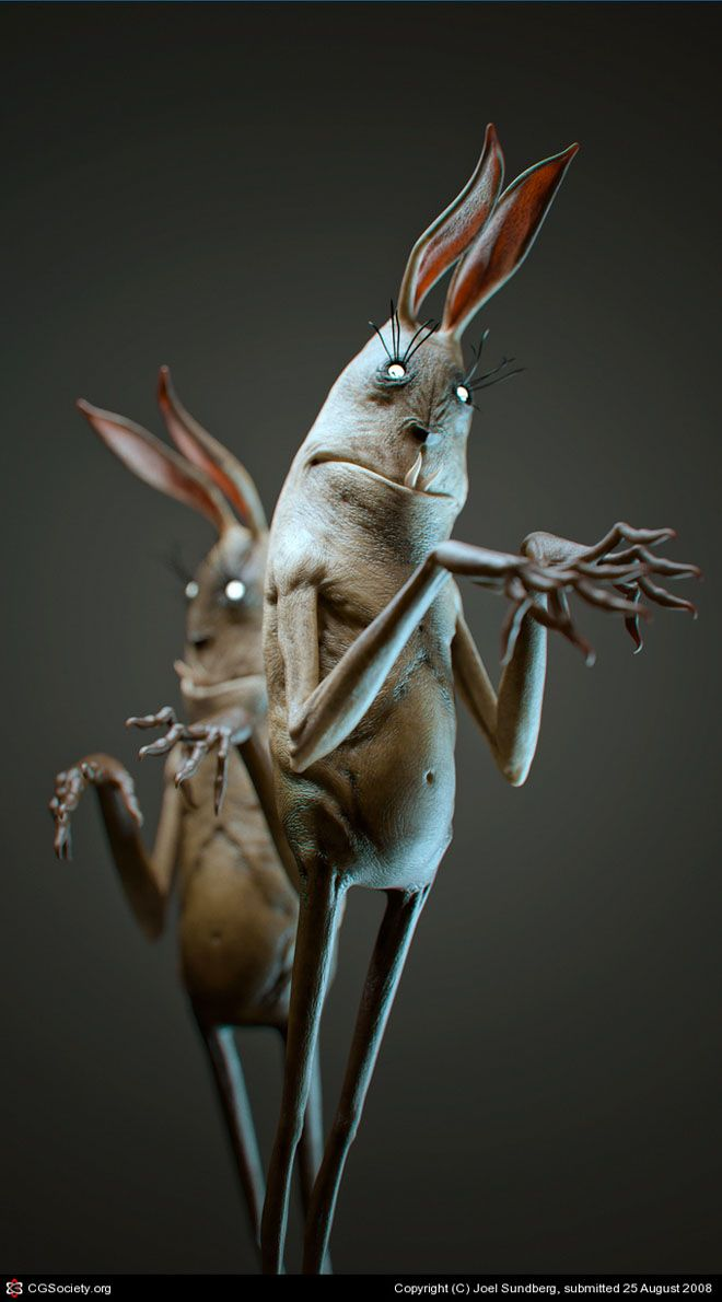 25 Incredible 3D Monsters and Evil Themed Character Designs by Laurent Pierlot. Follow us www.pinterest.com/webneel
