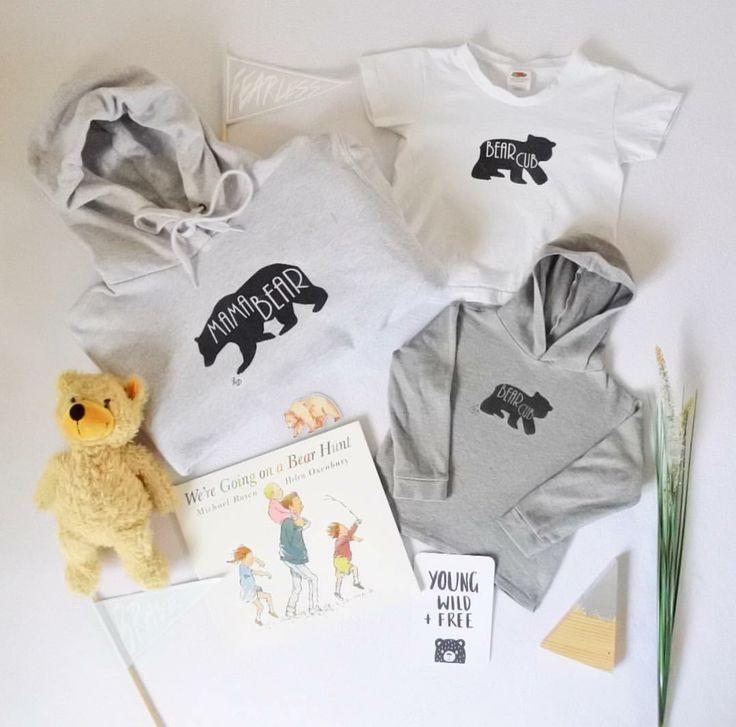 Bear cub © hoodies | Lauren Dwyer Fashion