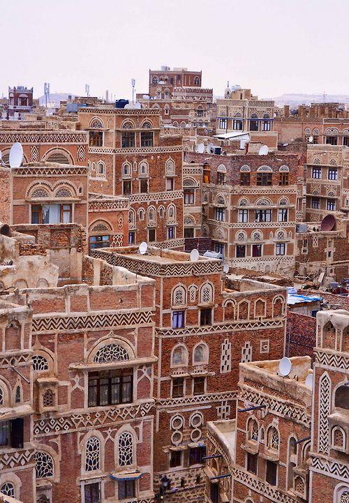 Sana'a, Yemen. Photo by Rod Waddington