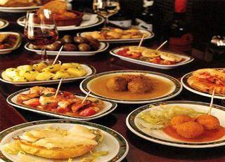 Tapas, cocina española