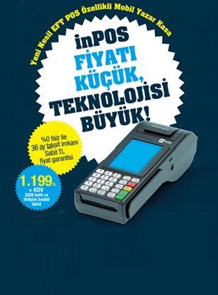 Yeni Nesil Mobil Yazar Kasa - Yeni ÖKC Cihazımız inPOS' la Tanışın http://www.mormani.com/