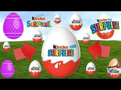 Fantastic SURPRISE EGGS UNBOXING!!!LOTS OF SURPRISES !!!!KINDER EGGS!!!