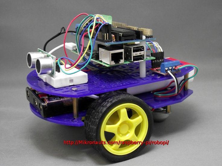 RoboPi - robot controller for RaspberryPi