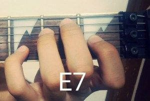 A must learn for all guitar players : the dominant 7th chords...Pin it and learn upto 6 relevant ways of playing this chord by clicking here : http://musicterrene.com/2015/09/05/e7-chord/