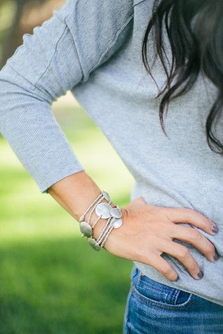 Silver Wrap Bracelet or Necklace | The Magnolia Market