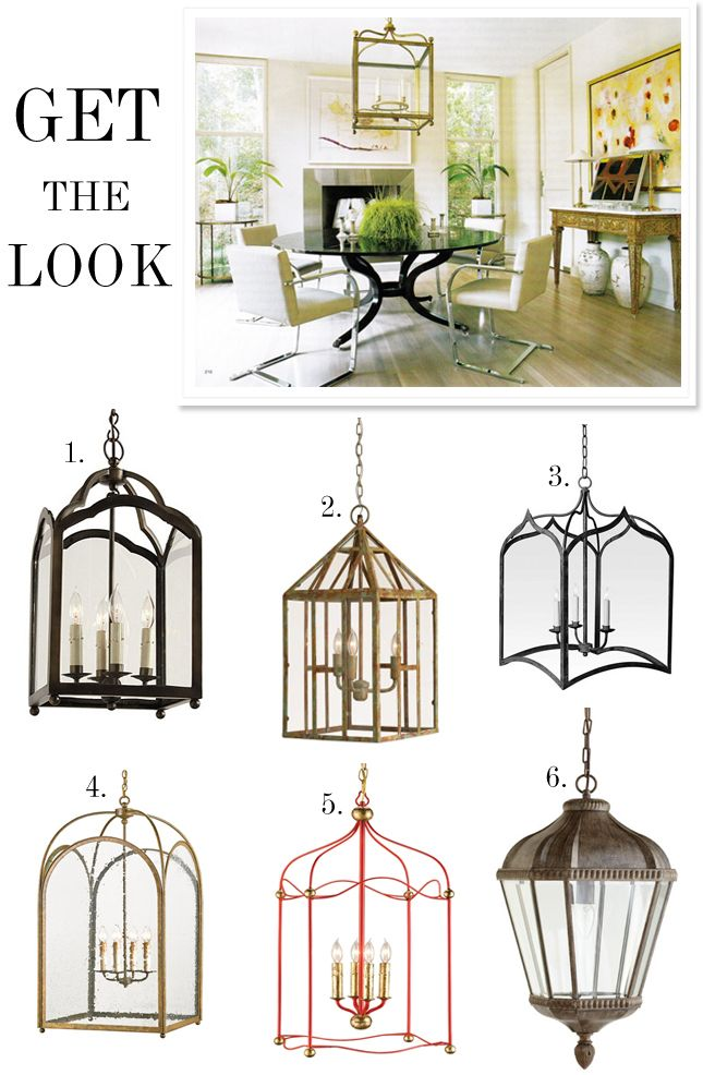 favorite lanterns  Good Bones, Great Pieces