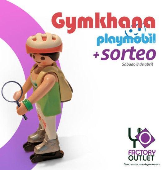 El Factory Outlet de Málaga organiza un gymkhana Playmobil