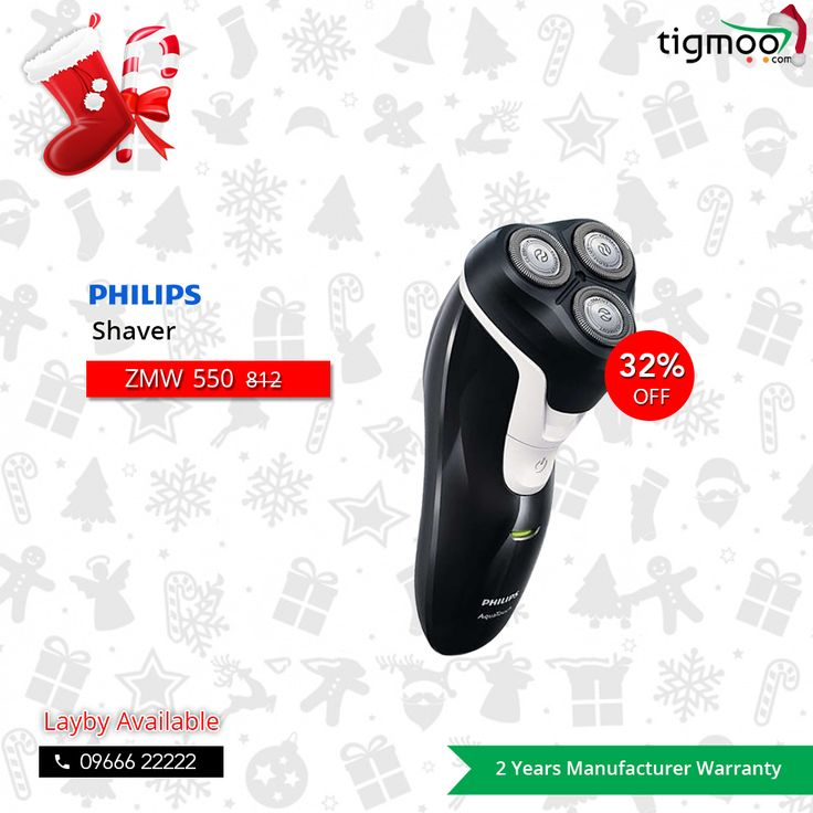#SmoothShave with a Smoother 32% OFF on #PhilipsShaver AT610 only at #Tigmoo online store!