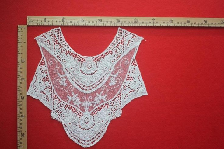 Cotton Venise Lace Collar Neckline Sewing Trim Applique DIY Clothes Dress Craft | Crafts, Sewing, Embellishments & Finishes | eBay!
