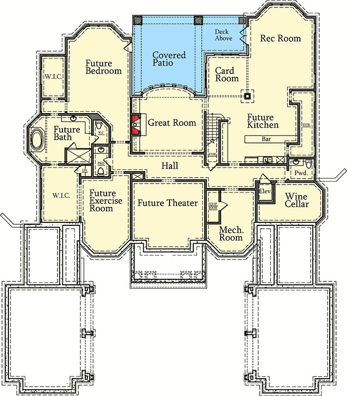 Rooms House Design Plan