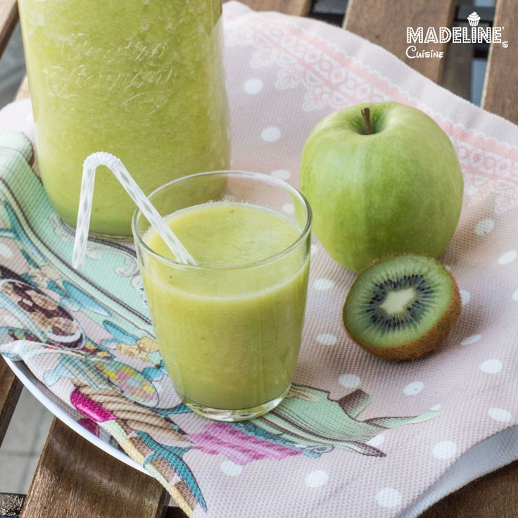 Suc de mere, kiwi si ghimbir / Apple, kiwi and ginger juice