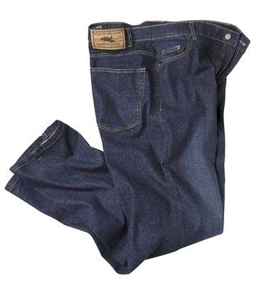 Jeans Stretch Blue Used #atlasformen #avis #discount #livraison #commande