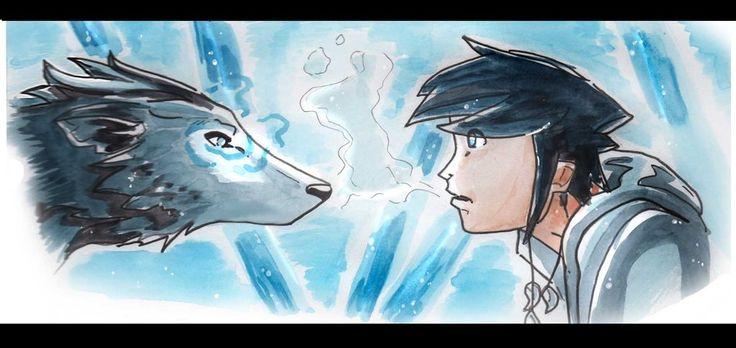 Meet the Akillian Wolf. by raysen.deviantart.com on @DeviantArt
