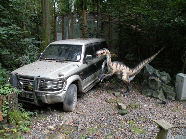 Its like Jurassic Park!