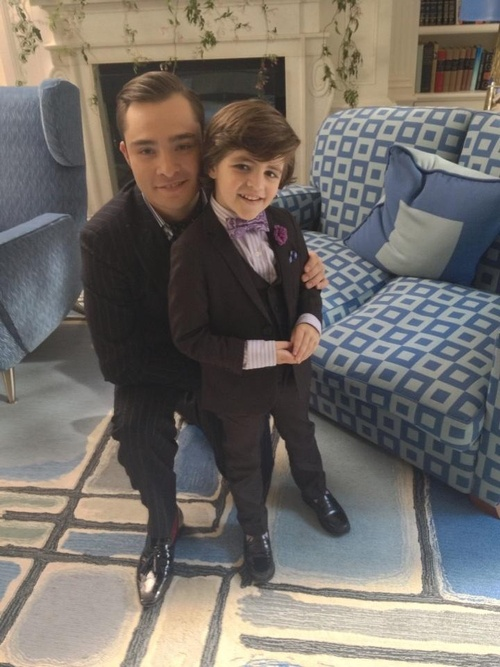 CHUCK AND BABY CHUCK <3