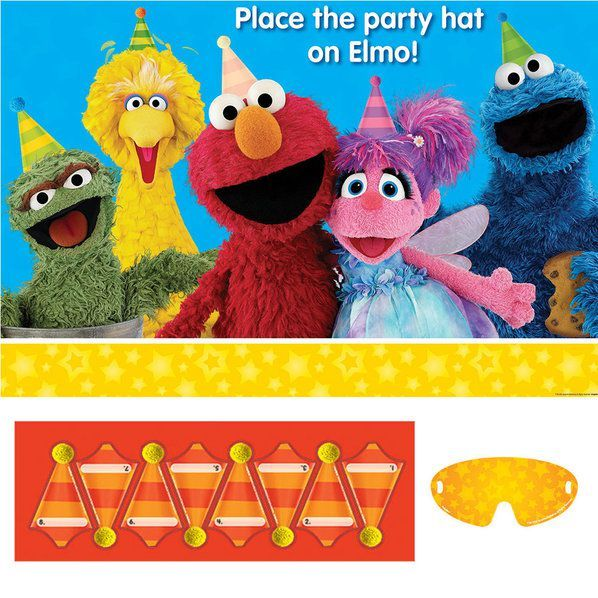 Check out Sesame Street Party Game   Sesame Street Birthday party supplies for your next birthday bash from Wholesale Party Supplies from Wholesale Party Supplies