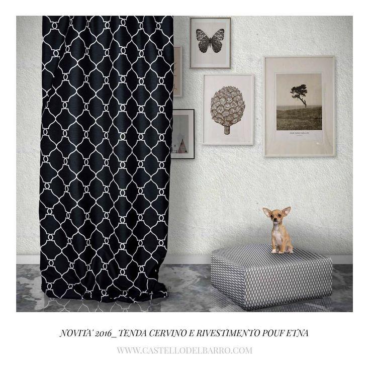 Ecco una delle novità 2016 di Castello del Barro! La bellissima tenda Cervino! Disponibile anche in altri colori!! / We are happy to present Cervino curtain!! A new item of 2016!! Avaliable in other different colours! #curtains #tende #interni #interiors #castellodelbarro #novita2016 #2016 #new #cervino #bw #bn #design #interiordesign #designinspiration #designinterni #tessuti #fabrics #home #casa #homedecore #homedecoration #decorazionicasa #casa #arredamento #arredamentointerni