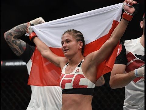 MMA Karolina Kowalkiewicz living her dream at UFC 205